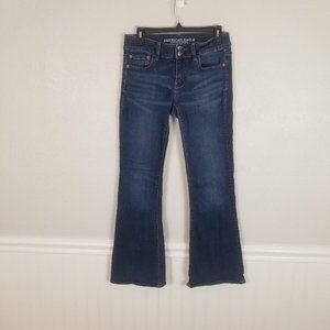 American Eagle Artist Flare Denim Jeans Size 10